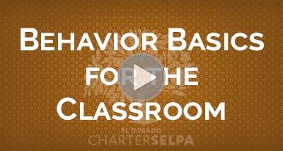 Webmodule for Behavior Basics for the Classroom