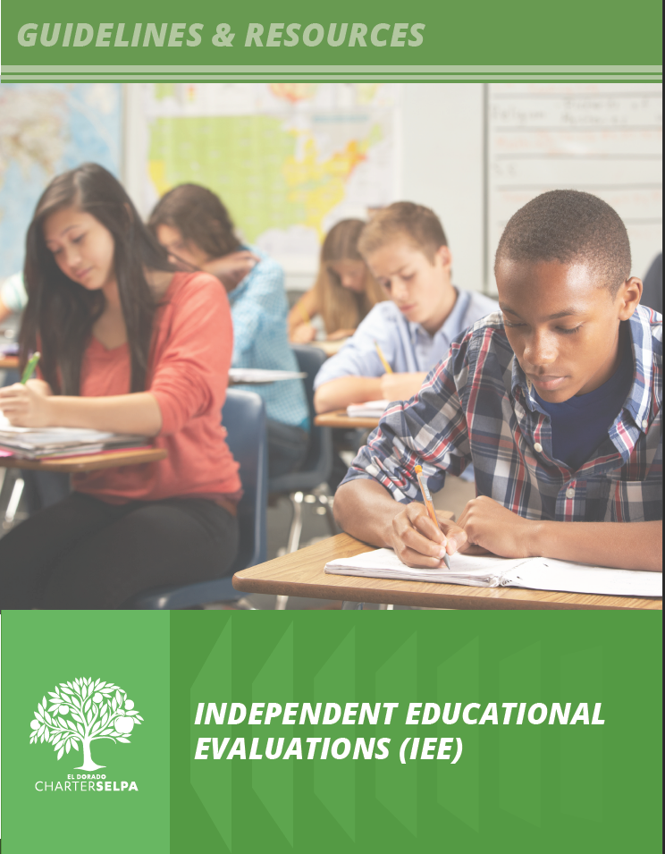 Image of the cover for Independent Educational Evaluations (IEE)