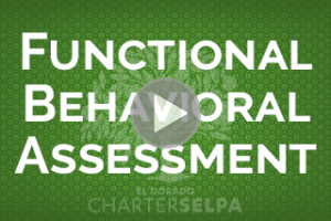 Link for Functional Behavioral Assessment webmodule