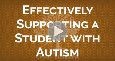 Webmodule for Effectively Supporting a Student with Autism