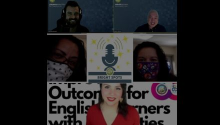 Image of speakers for bright spots episode 1